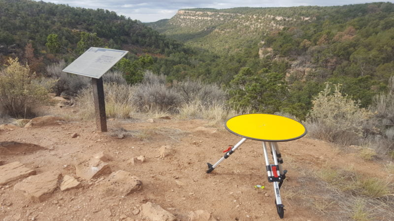 Lidar archaeology - Routescene UAV Lidar System used at Sand Canyon