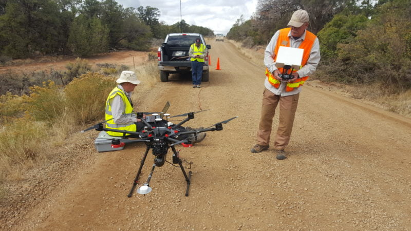 Setting up the Routescene UAV LiDAR system ready for flight