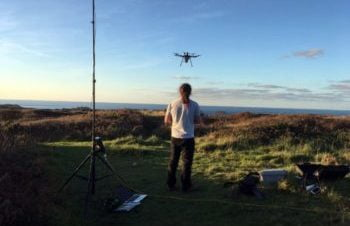 Routescene UAV Lidar system locates WWII prison camp