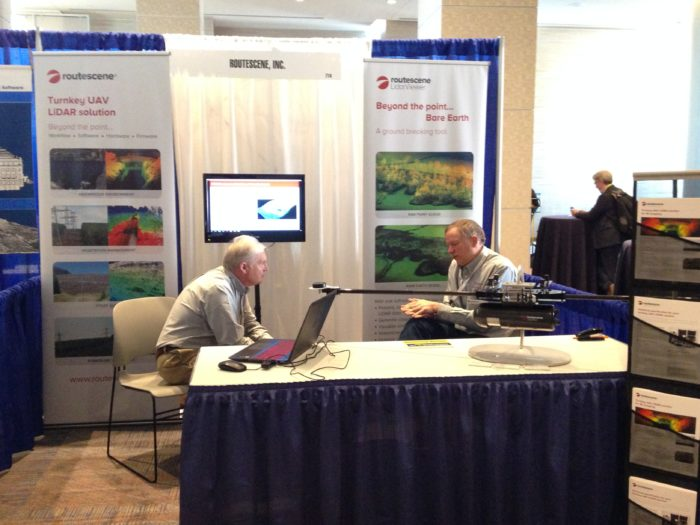 Geoweek Routescene booth