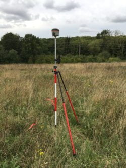 Surveying in a Ground Control Point using a RTK GNSS Rover