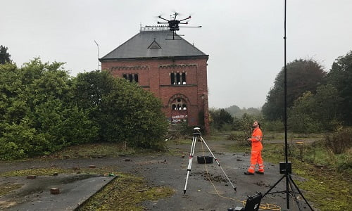 Old Pumping Station LiDAR scan