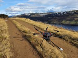 Routescene drone Lidar at Kenmore