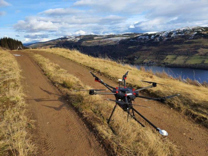 Routescene drone Lidar at Kenmore