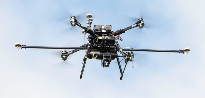 Routescene UAV LiDArR system mapping the Arctic tundra