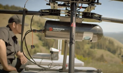 Routescene UAV LiDAR survey and mapping system