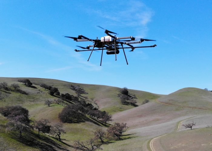 Skyfront Perimeter 8 drone with Routescene UAV LiDAR system