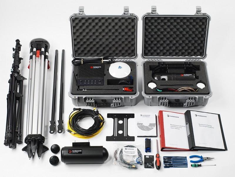 Routescene UAV LiDAR Everything you need