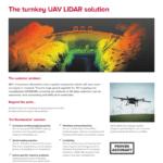 Routescene UAV LiDAR product brochure