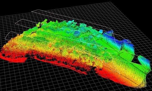 Routescene drone LiDAR software