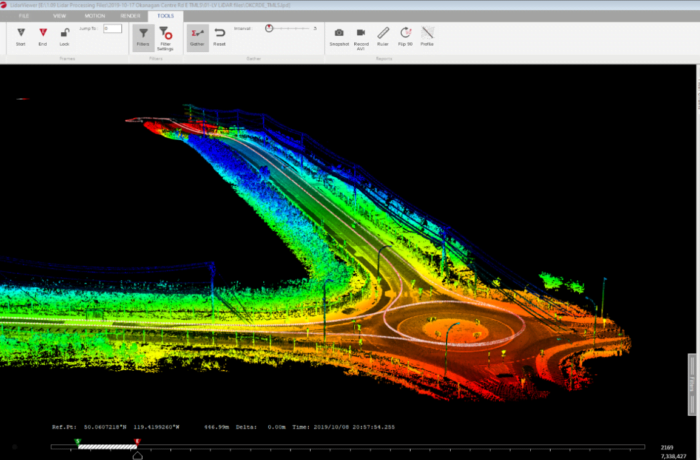 Routescene mobile LiDAR mapping system