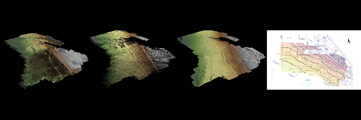 Routescene drone LiDAR survey and mapping