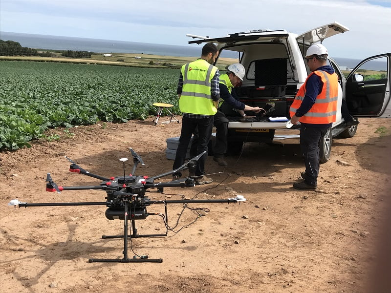 Routescene UAV LiDAR system for survey and mapping