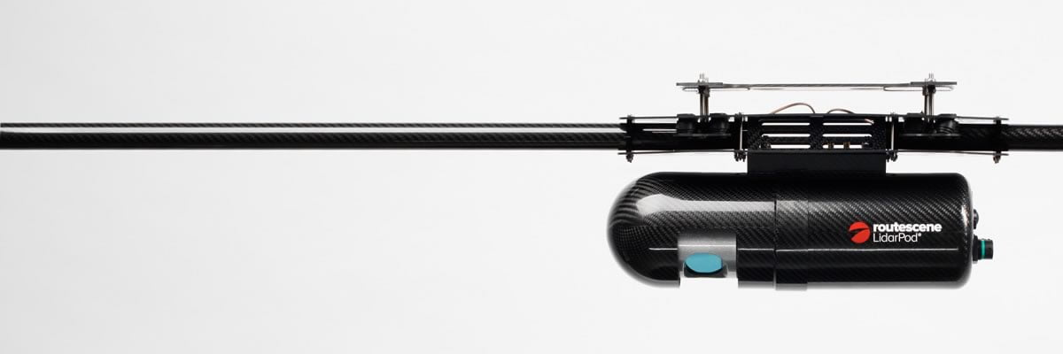 Rourescene LidarPod drone integration