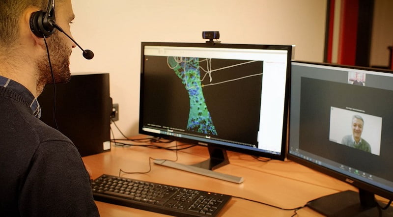 Routescene LiDAR software training and technical support