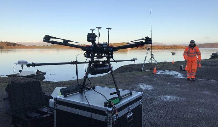 Routescene LidarPod Lidar solutions dual GNSS antenna
