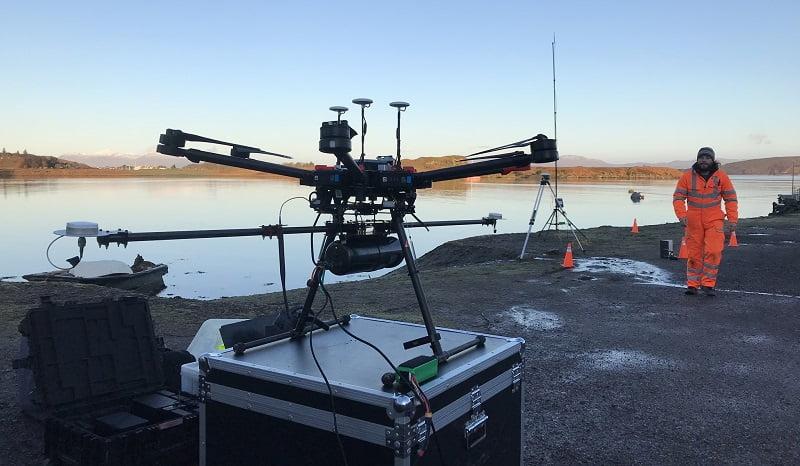 Routescene LidarPod dual GNSS antenna