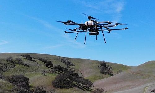 Routescene LidarPod and Skyfront Perimeter 8 drone