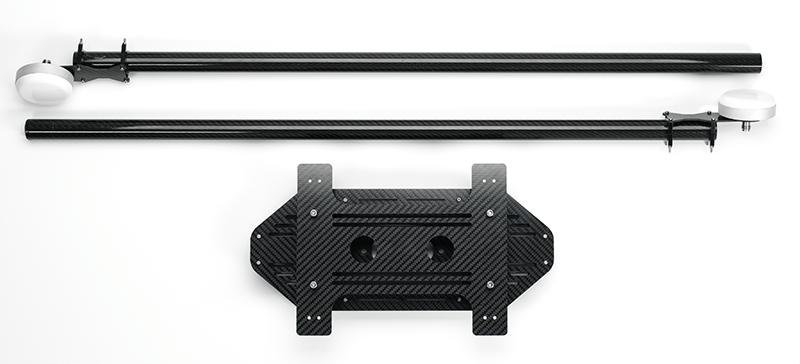 Routescene vibration dampening drone mounting kit