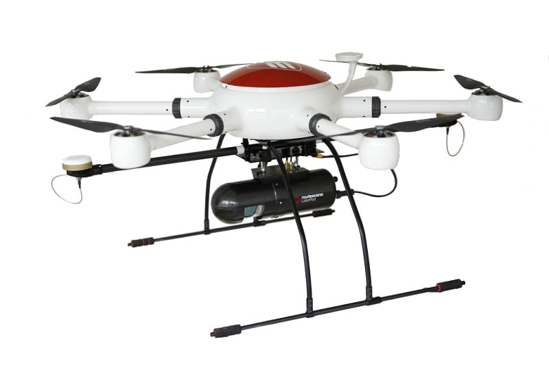 Third Element Aviation drone with Routescene LidarPod